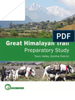 Icimod-great Himalayan Trail Preparatory Study