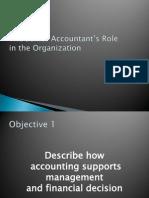 The Senior Accountant's Role