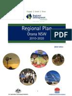 RDA+Orana+Regional+Plan+2010 2020