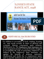 Employee s State Insurance Act 1948