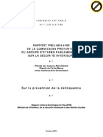 Rapport BENISTI Prevention