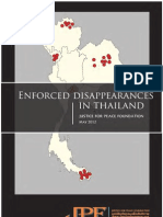 Enforced Disappearances in Thailand