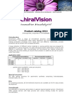 ChiralVision Product List