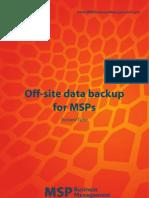 Offsite Data Backup