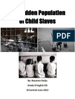 Child Slavery Research Essay