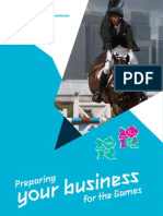 Preparing Your Business for the Games