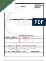 DOMEMSP004 - R03 - HSE Management System Manual