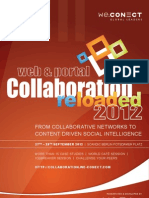Web+Portal Collaboration Reloaded 2012_agenda