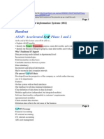 ASAP Accelerated SAP Phases