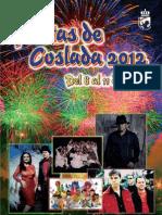 Programa Fiestas Coslada 2012