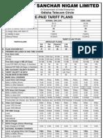 BSNL-Tariff for Web
