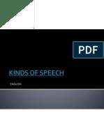 Kinds of Speech Welnar Naupan