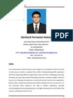 CV Gerhard F.