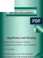 Micro-teaching Unit Vi 4(11)
