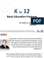 DepED K to 12 Presentation for DLSP Oct 6