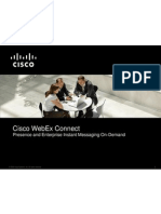 Cisco WebEx Connect C6 Overview BDM - Copy