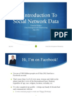 An Introduction to Social Network Data