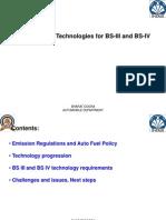 BS III   BS IV