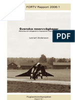 Dispersed Road Operations in Sweden