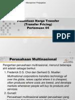 Teori Transfer Pricing