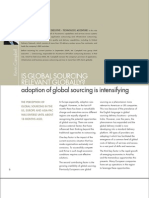Accenture View on Global Delivery and Global Sourcing