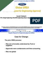 Global SREA Training (Including Trainer Notes)