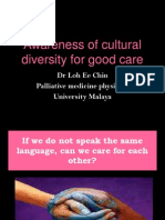Awareness of Cultural Diversity for Good Care_Dr Loh Ee Chin