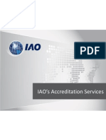IAO's Accreditation Services