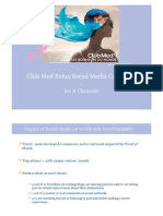 Club Med & Social Media