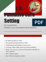 Triage in Palliative Care Setting_Dr Joseph Ninan