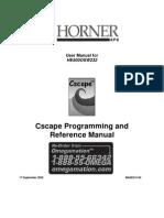 m Cscape Program