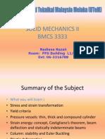 Solid Mechanics II