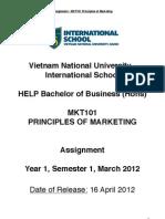 Mkt101 Assignment