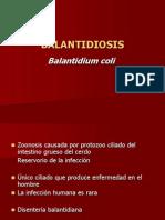 Clase 5 2012 Balantidiosis