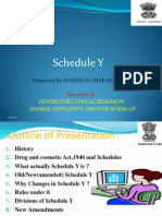 Schedule y, Mk Sharma