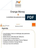 Orange Money Faciliter Paiements Transfrontaliers (French)