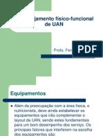 9) Planejamento Fisico-funcional de UAN