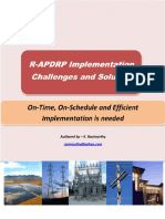 R-APDRP Implementation Challenges and Solutions