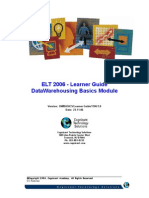 ELT 2006 - Learner Guide DW Basics v1 1 .0(2)
