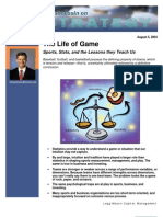 08082004 Mauboussin Life of Game