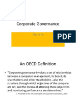 4ps of Corporate Governance