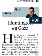 Francesc-Marc Álvaro. Hunting Ton en Gaza
