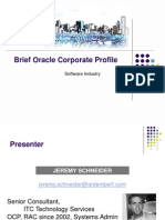 Schneider Oracle Corp Profile