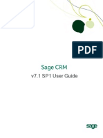 Sage CRM v7.1 SP1 User Guide