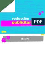 Redacción Publicitaria I
