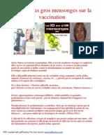 19210506 Les 10 Plus Gros Mensonges Sur La Vaccination
