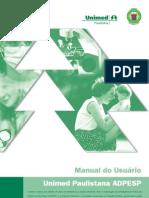 Manual Adpesp Unimedpaulistana Completo