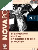 NovaPolis - REVISTA DE ESTUDIOS POLÍTICOS CONTEMPORÁNEOS - El clientelismo electoral en el sistema político paraguayo - Edición No. 3 de Abril de 2008 - Paraguay - PortalGuarani