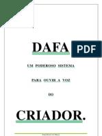 DAFA - Um Poderoso Sistema Para Ouvir a Voz Do Criador