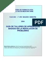 Guía de talleres de farmacología según ABP